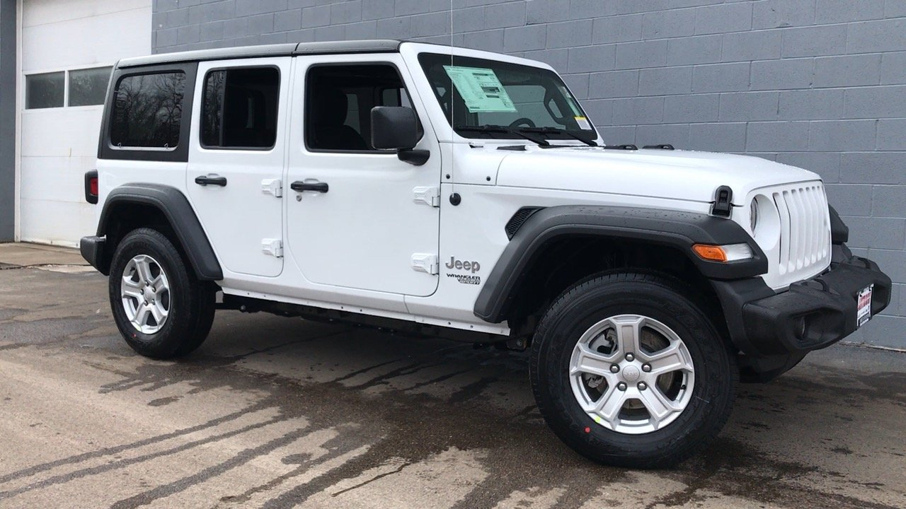 New 2018 Jeep Wrangler Unlimited Sport S Sport Utility In