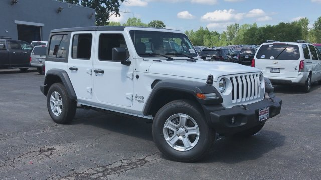 Jeep Wrangler Unlimited Sport >> New 2018 Jeep Wrangler Unlimited Sport S Sport Utility In Antioch