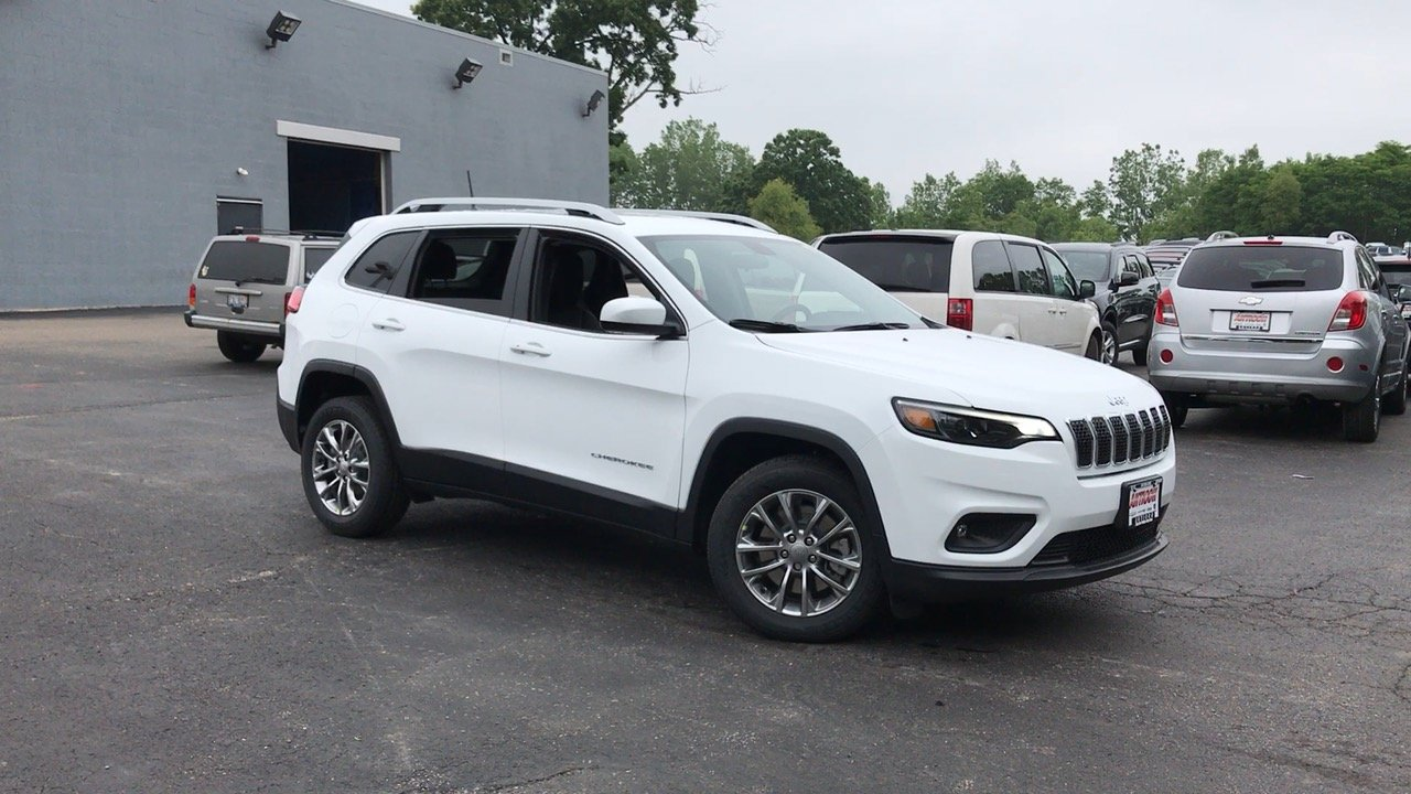 New 2019 Jeep Cherokee Latitude Plus Sport Utility In Antioch 19091