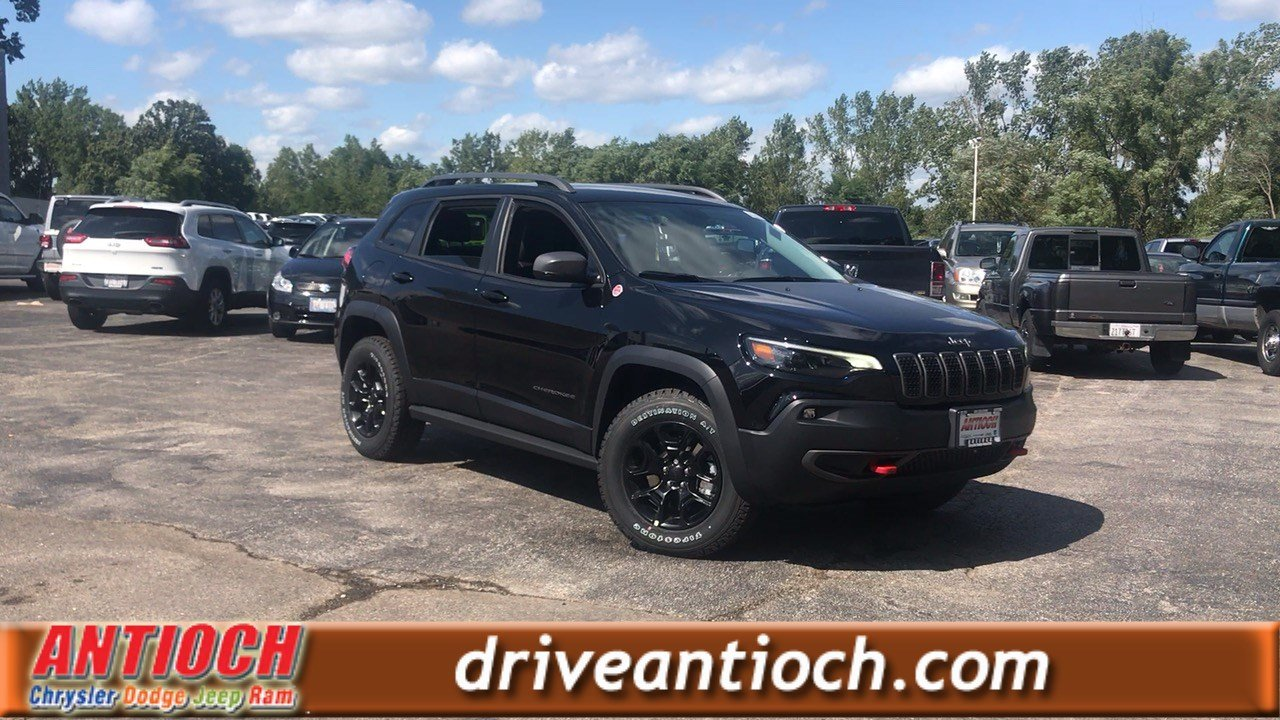 New Jeep Cherokee >> New 2020 Jeep Cherokee Trailhawk Elite 4x4