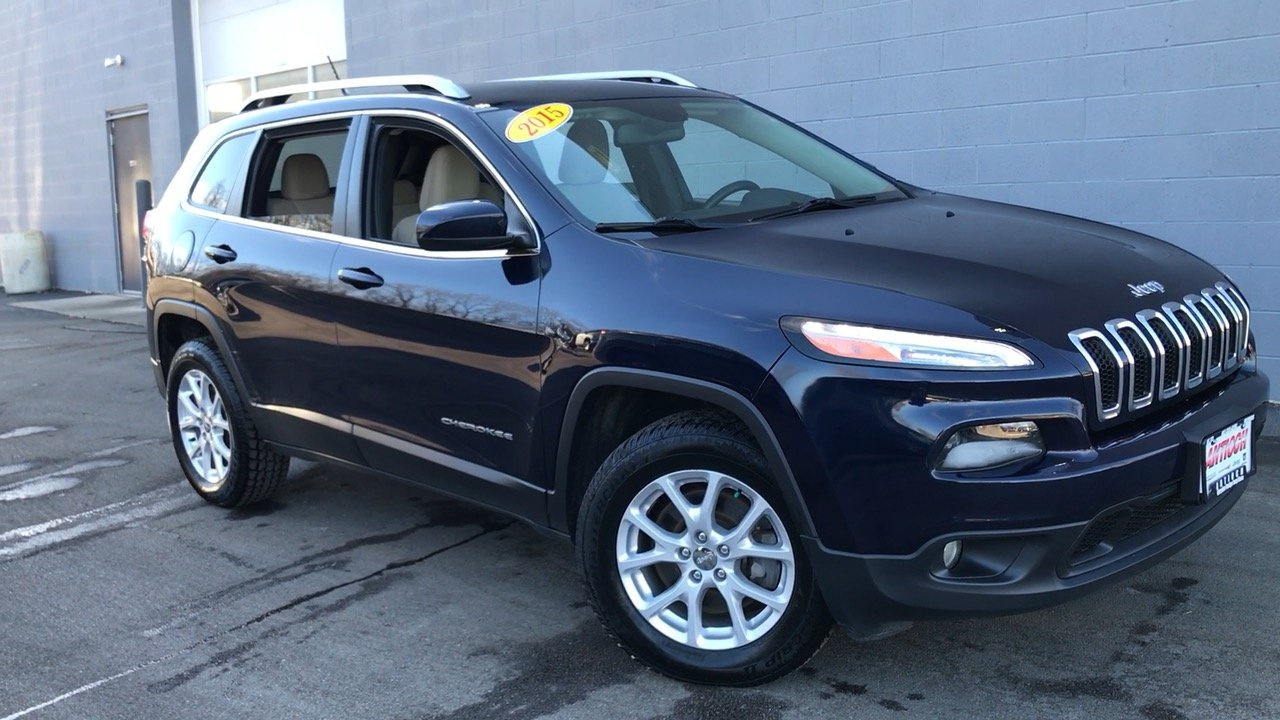 certified pre owned 2015 jeep cherokee latitude 4d sport utility in antioch 14925p antioch. Black Bedroom Furniture Sets. Home Design Ideas