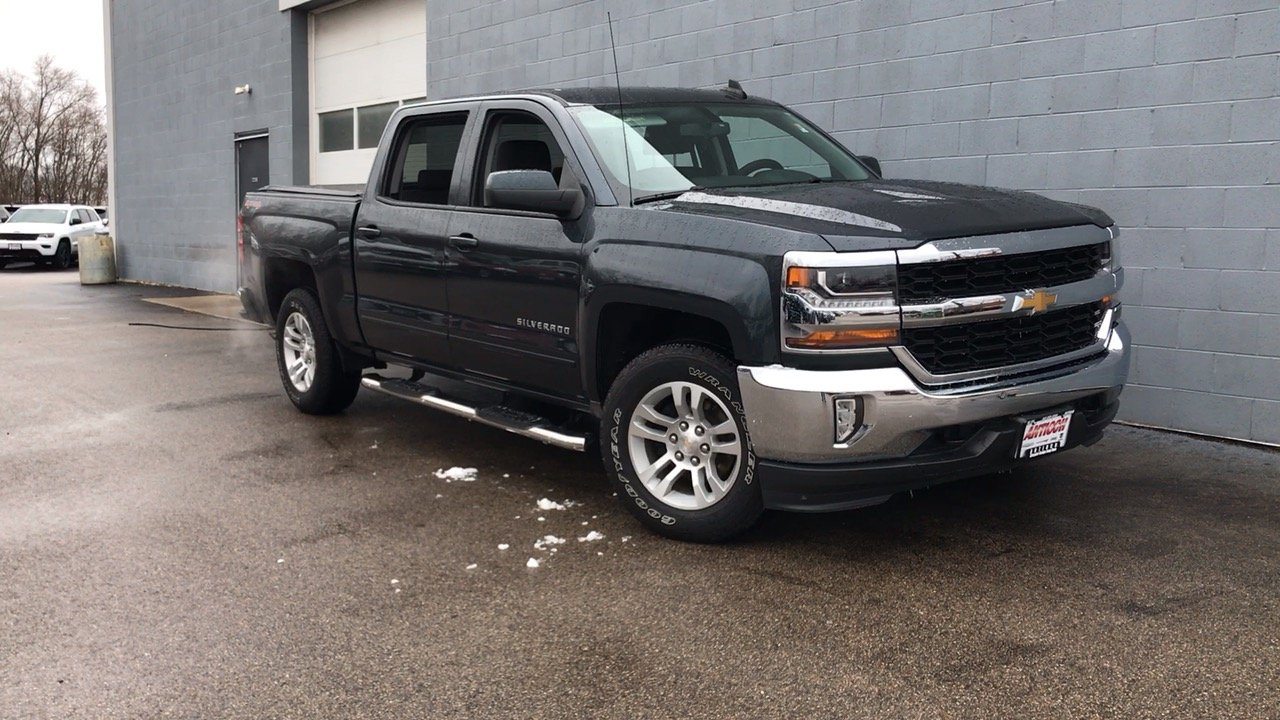 Pre Owned 2017 Chevrolet Silverado 1500 Lt 4d Crew Cab In Antioch